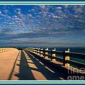 Bahia Honda Bridge In The Florida Keys by Susanne Van Hulst