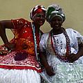 Bahian Ladies Of Salvador Brazil 3 by Bob Christopher