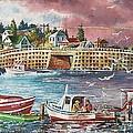 Bailey Island Cribstone Bridge by Joy Nichols