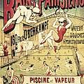 Bains Parisiens. Advertisment Marking by Everett