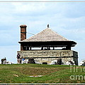 Bake House At Old Fort Niagara 2 by Rose Santuci-Sofranko