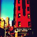The Bakery - New York City Street Scene by Miriam Danar