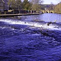 Bakewell Weir by Fred West