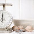 Baking Time Vintage Kitchen Scale by Edward Fielding