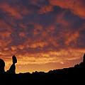 Balanced Rock Al Silhouette  by Dave Mills