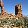 Balanced Rock Arches National Park Utah by Peter Lloyd