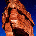 Balanced Rock At Garden Of The Gods by John Hoffman
