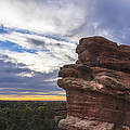 Balanced Rock At Sunrise - Garden Of The Gods - Colorado Springs by Brian Harig