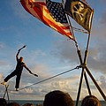 Balancing Act In Key West by Carl Purcell