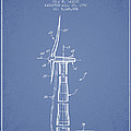 Balancing Of Wind Turbines Patent From 1992 - Light Blue by Aged Pixel