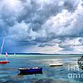 Balaton Lake by Odon Czintos