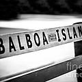 Balboa Island Bench In Newport Beach California by Paul Velgos