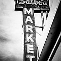 Balboa Market Sign Orange County California Photo by Paul Velgos