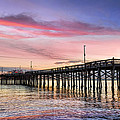 Balboa Pier Sunset by Kelley King