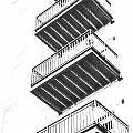 Balconies by Debbie Nobile