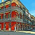 Balconies Painted by Steve Harrington