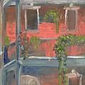 Balcony I by Lilibeth Andre
