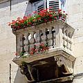 Balcony In Split Croatia by Carla Parris