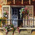Balcony Of Ferrara by Voros Edit
