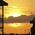 Key West Balcony Sunset by Bob Slitzan