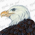 Bald Eagle -- Proud To Be An American by Sherry Goeben