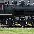 Baldwin 0-6-0 Steam Locomotive - Gorham New Hampshire by Erin Paul Donovan