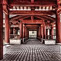 Balikun Xibo Temple by Lijie Zhou