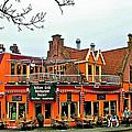 Balkan Restaurant In Enkhuizen-netherlands by Ruth Hager