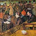 Ball At The Moulin De La Galette by Toulouse-Lautrec