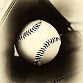 Ball In Glove by John Rizzuto