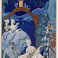 Ball Under The Blue Moon by Georges Barbier