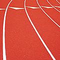 Ballard High School Track Sruface by Nathan Griffith