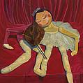Ballerina And Partner by Dario Pinto