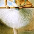 Ballerina At The Bar by Pg Reproductions