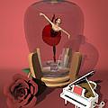 Ballerina In A Bottle - Kiko by Alfred Price