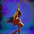 Ballerina On Point by Fli Art