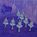 Ballerina Rehearsal by Xueling Zou