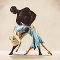 Ballet 1  by Karen  Loughridge KLArt