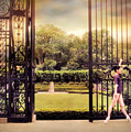 Ballet At The Vanderbilt Gate by Jessica Jenney