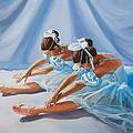 Ballet Dancers by Paul Walsh