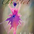 Ballet Releve Poster by Amy Kirkpatrick