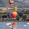 Balloon Ascent by Steve Krull