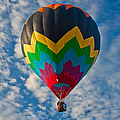 Balloon At Sunrise by Suzanne Stout