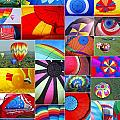 Balloon Fantasy Collage by Allen Beatty