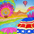 Balloon Festival Yuma by Lynn Morgan -                            L L Morgan Art