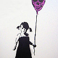 Balloon Girl by Bela Manson