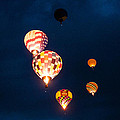 Balloon Glow by Linda Pulvermacher