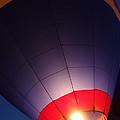 Balloon-glowpurple-7710 by Gary Gingrich Galleries