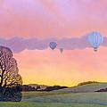Balloon Race by Ann Brian