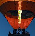 Balloon Ride At Dawn by Bob Phillips
